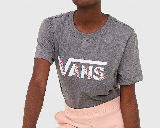 Camiseta Vans Bundlez Boxy Tee Grey Heathe