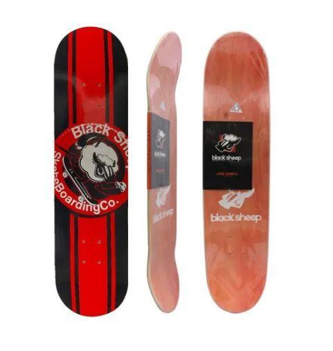 Shape Profissional Skate Black Sheep Tamanho 8.0 Marfim