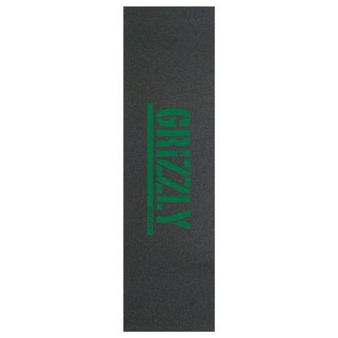 Lixa Grizzly Mini Bear Cutout Preto/Verde