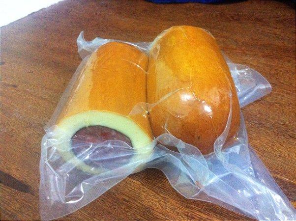 Resultado de imagem para queijo recheado com salame