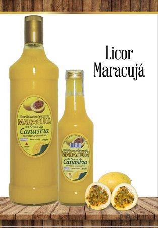 Licor Cremoso Artesanal Canastra 900 ML - Maracujá