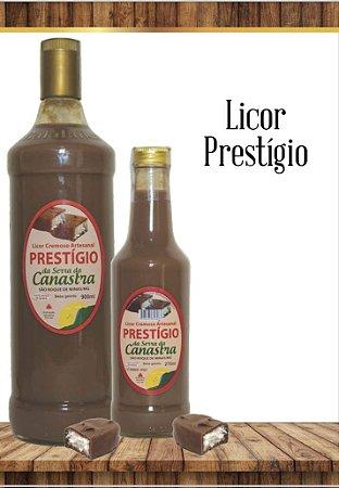Licor Cremoso Artesanal Canastra 900 ML - Prestígio