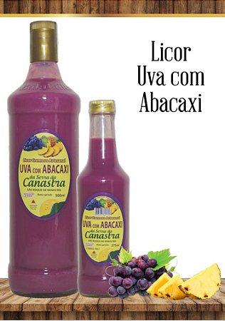 Licor Cremoso Artesanal Canastra 900 ML - Uva e Abacaxi