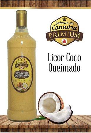 Licor Cremoso Artesanal PREMIUM Canastra 900 ML - Coco Queimado