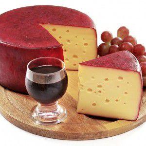 Queijo Parmesão Cunha Ao Vinho Prensado e Curtido