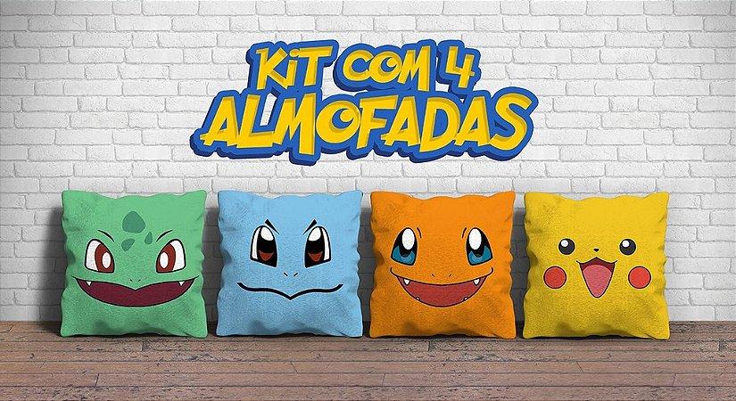 Kit 4 Almofadas  30% de desconto FRENTE+VERSO
