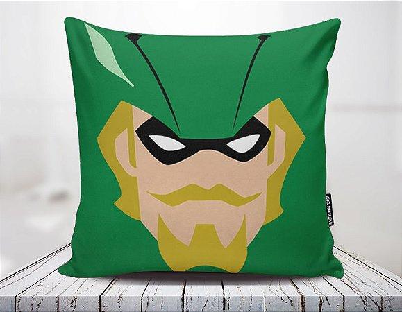 Capa Arqueiro Verde Minimalista