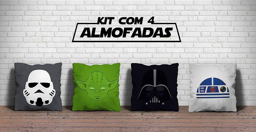 Kit 4 Almofadas  20% de desconto
