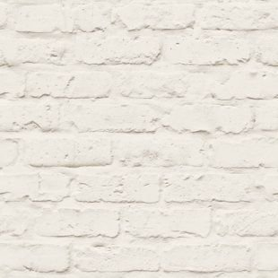 Papel de Parede Tijolinho Branco
