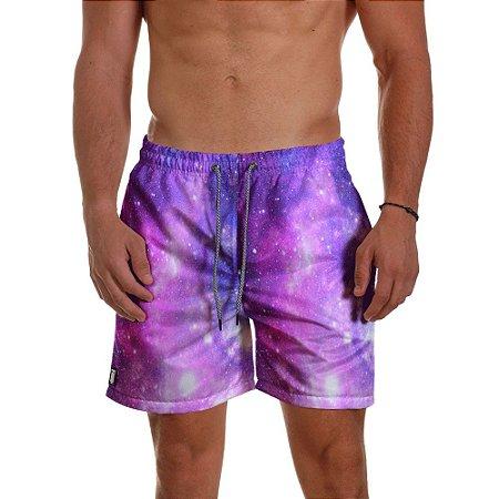 Short de Praia Masculino Estampado Universo Use Thuco