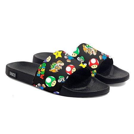 Chinelo Slide Super Mario Use Thuco