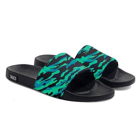 Chinelo Slide Use Thuco Camuflado Verde