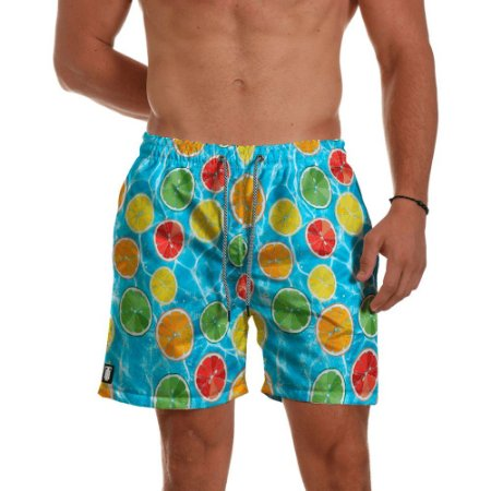 Short Praia Masculino Lemon  Use Thuco