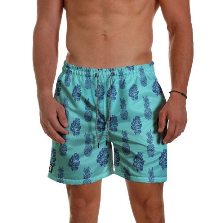 Short Praia Use Thuco Abacaxi BG Green