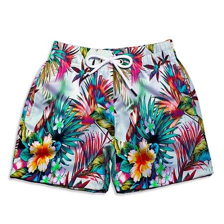 Short Praia Infantil UseThuco Floral