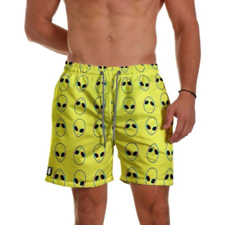 Short Masculino Use Thuco - Coleção ABDUCTION - Yellow