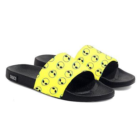 Chinelo Slide Use Thuco Coleção Abduction - Yellow