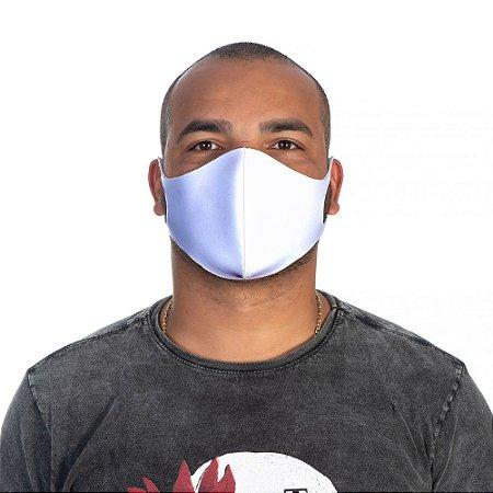 Mascara Proteção Masculina Em Tecido Lavável Neoprene Cor Branca Use Thuco
