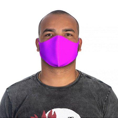 Mascara Proteção Masculina Em Tecido Lavável Neoprene Cor rosa Use Thuco
