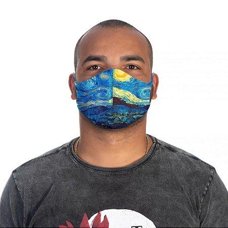 Mascara Proteção Masculina Em Tecido Lavável Neoprene Van Gogh Use Thuco