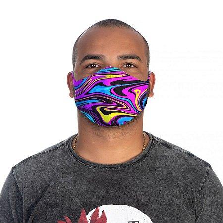 Mascara Proteção Masculina Em Tecido Lavável Neoprene Trippy Use Thuco