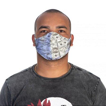 Mascara Proteção Masculina Em Tecido Lavável Neoprene Dollar Use Thuco