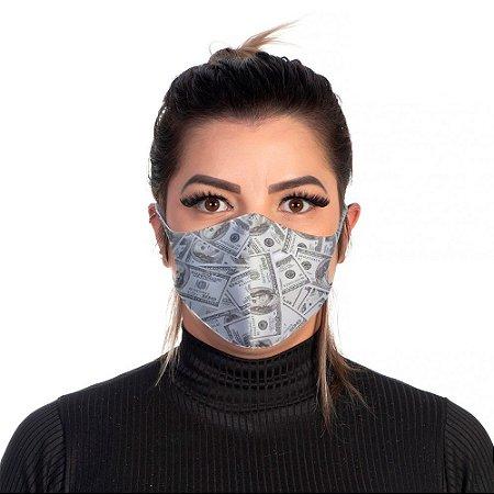 Mascara Proteção Feminina Em Tecido Lavável Neoprene Dollar Use Thuco