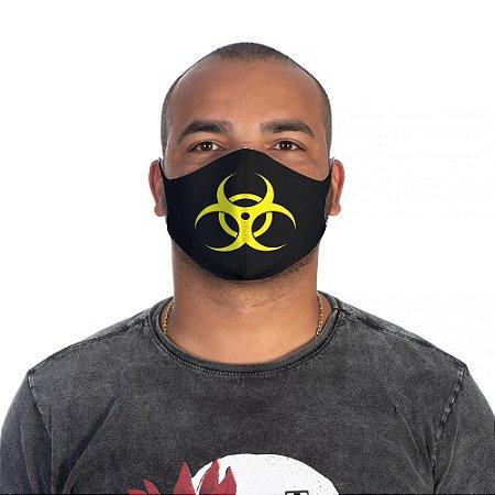 Mascara Proteção Masculina Em Tecido Lavável Neoprene Danger Use Thuco