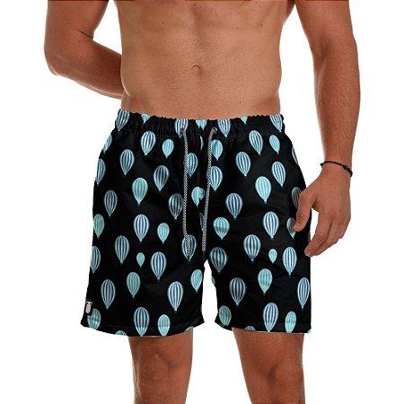 Short Praia Masculino Balões Azul Use Thuco