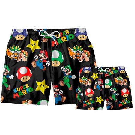 Kit Shorts Pai e Filho Mario Broos Use Thuco
