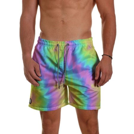 Short Masculino - TIE DYE Summer Purple
