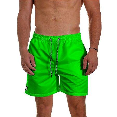 Short de Praia Masculino Verde Neon Use Thuco