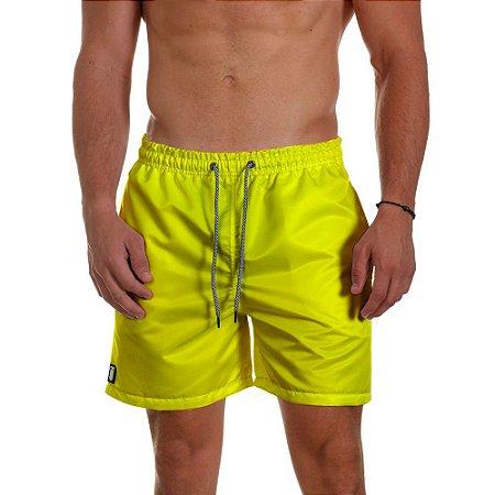 Short de Praia Masculino Amarelo Neon Use Thuco