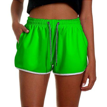 Shorts Feminino UseThuco Verde Limão