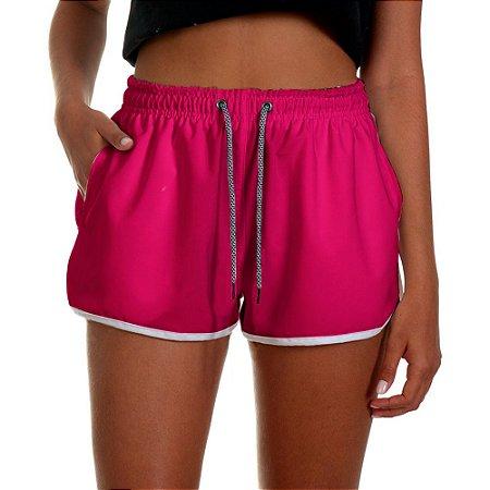 Shorts Feminino UseThuco Rosa Neon