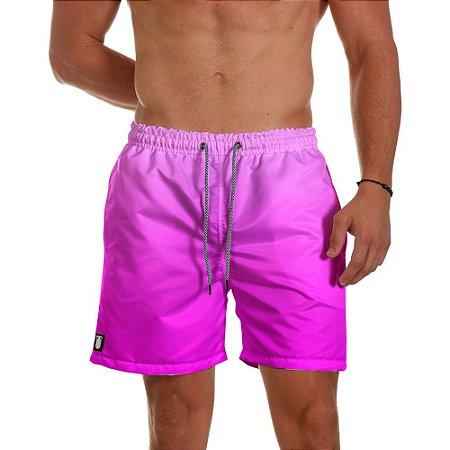 Short de Praia Masculino Rosa Degrade Use Thuco