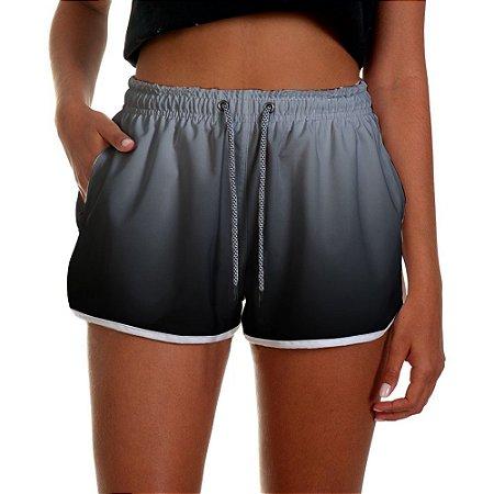 Shorts Feminino Preto Degrade UseThuco
