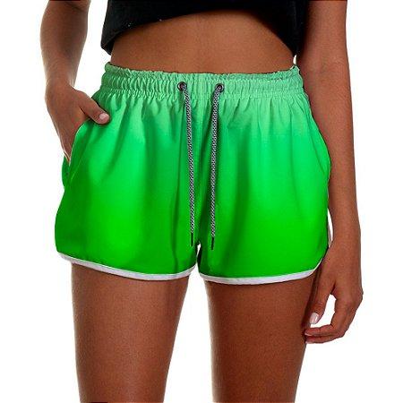 Shorts Feminino Verde Degrade UseThuco
