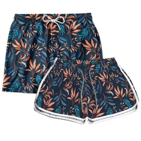 Kit Short Casal Use Thuco Tropicália