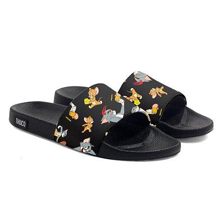 Chinelo Slide Personalizado Tom e Jerry Use Thuco