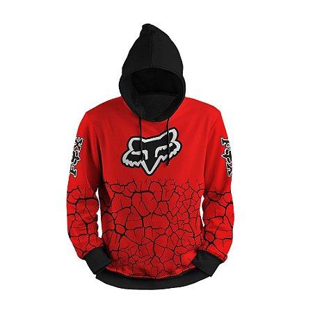 Moletom Fox Trilha Motocross Print 3d Use Thuco