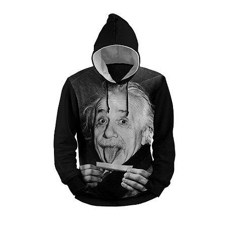 Moletom Einstein Green Full Print 3d Use Thuco