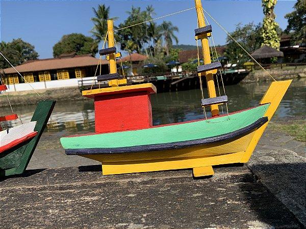 Barquinho Vermelho, Verde e Amarelo