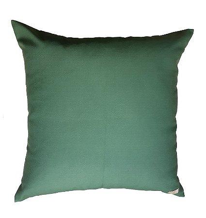 Almofada Verde Militar Escura 50 x 50cm