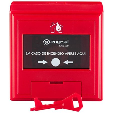 Acionador manual endereçavel AME 320 Intelbras