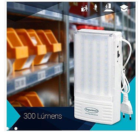 Iluminação de Emergência 300 Lumens Segurimax