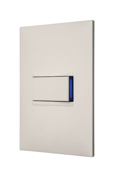 Interruptor Simples 10A 4x2 Branca Pial Plus Mais