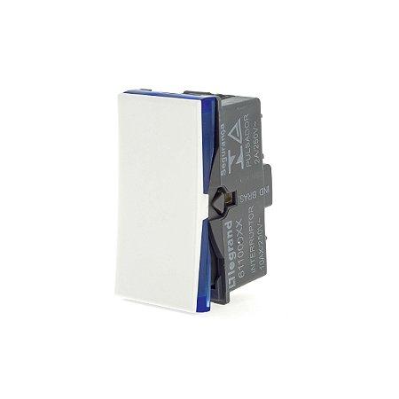 Interruptor Simples 10A 250v B.Parafuso Branca Pial Plus+
