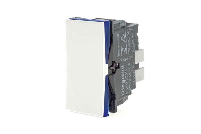 Interruptor Paralelo 10A 250v B.Automatico Branco Pial Plus+