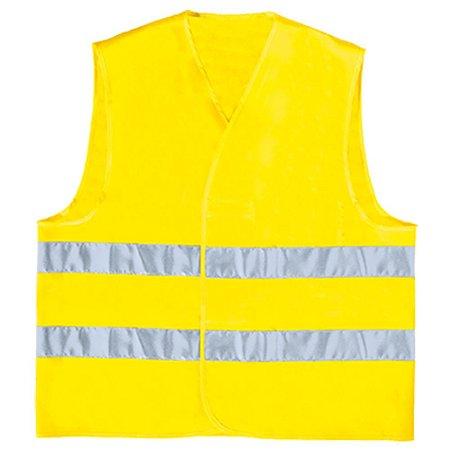 Colete refletivo amarelo - Delta Plus